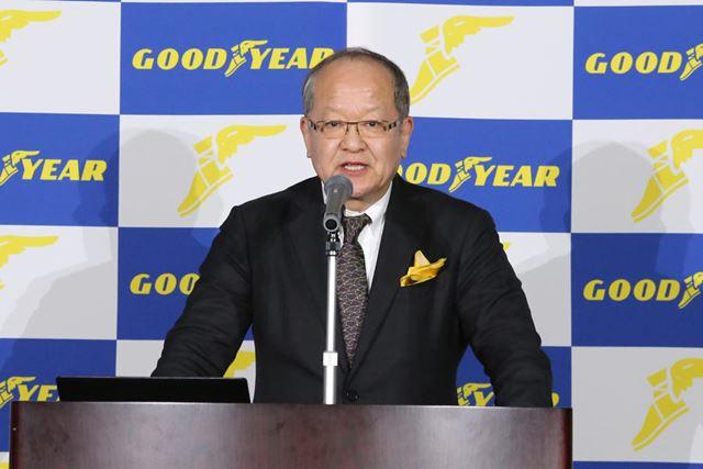 日本グッドイヤー代表取締役社長 金原雄次郎氏