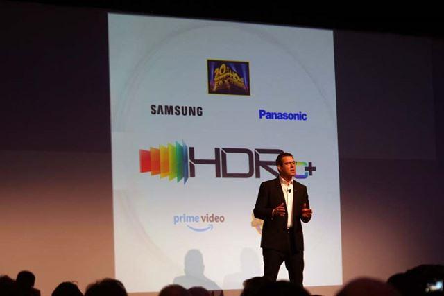 パナソニックのプレスカンファレンスで発表された「HDR10+」