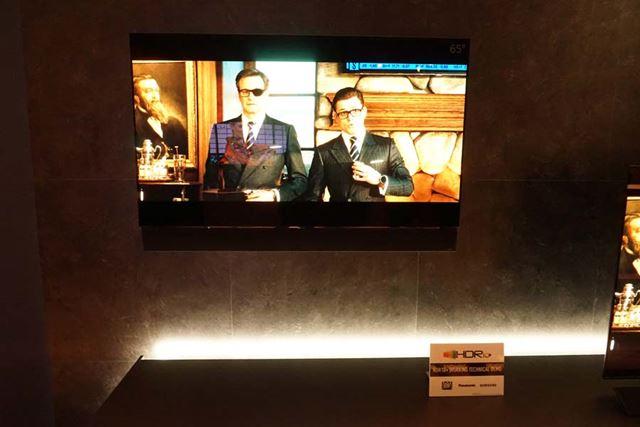 パナソニックは20世紀FOXの作品で「HDR10+」のテクニカルデモを披露