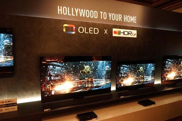パナソニックの有機ELテレビ2018年モデルも「HDR10+」に対応する