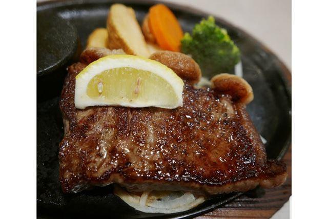 「ステーキのあさくま」のお肉は、やわらかくてとってもおいしいです