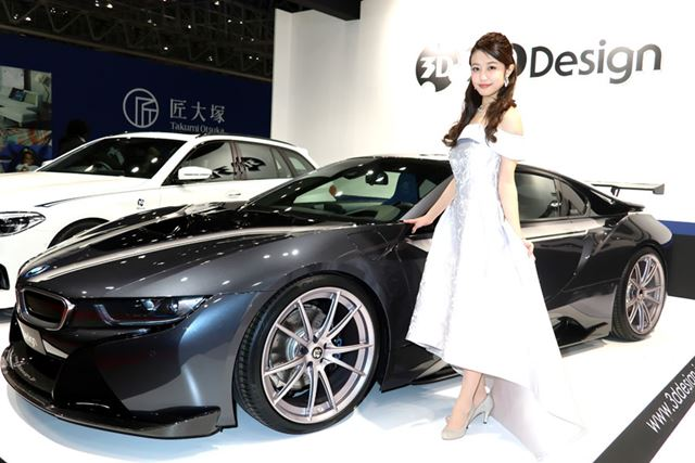 東京オートサロン2018「3D Design」ブース/キヤノン「PowerShot G1 X Mark III」を使用して撮影