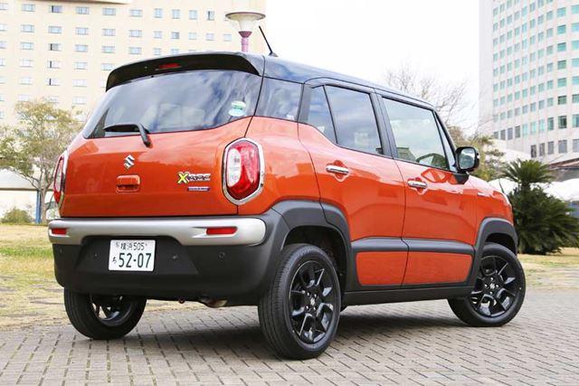実燃費を計測したスズキ「クロスビー HYBRID MZ(2WD)」