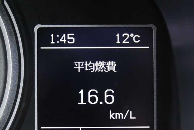 スズキ「クロスビー」実燃費計測結果:16.6km/L