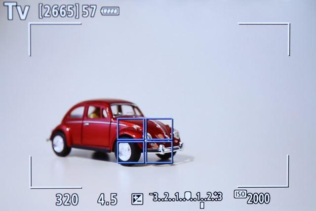 EOS 6D Mark IIはライブビュー撮影でもサーボAFでの追従連写が可能になった。(※最高約4.0コマ/秒)