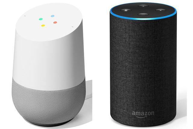 Google「Google Home」とAmazon「Amazon Echo」