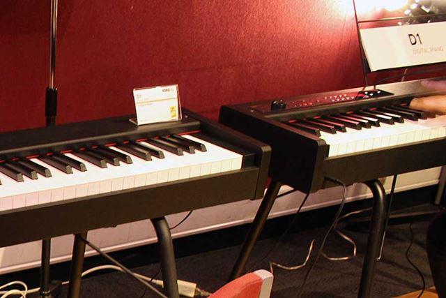 本体の最小奥行サイズは約26cm! 狭い自室にも設置しやすいステージピアノ