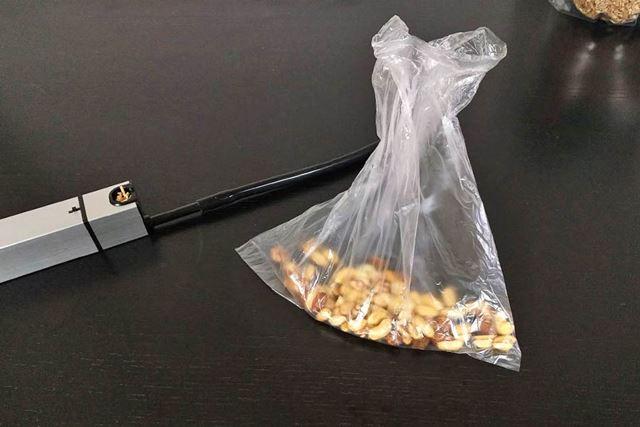ジップロックやビニール袋でも可能です!
