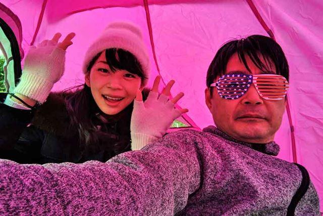 う〜ん最高! このHテントは最高です!