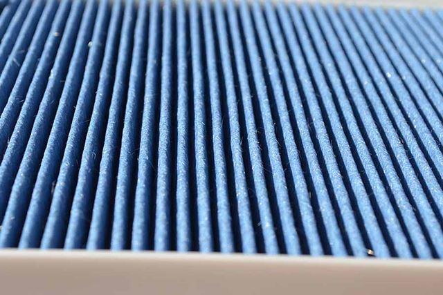 フィルターのヒダヒダ部分の数は38。素材がゴツイ分、通気性を考慮しての設計でしょうか