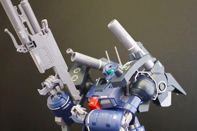兵器っぽいガンキャノンを気軽に組み立てて堪能できるガンプラですよ