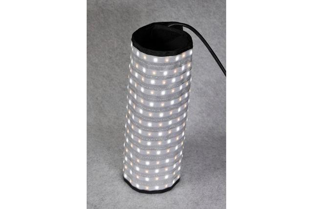 円筒の光源としても使用できる