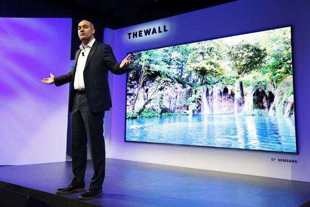 家庭用テレビへの展開にはまだ課題が残るものの、マイクロLED方式への期待値は大きい