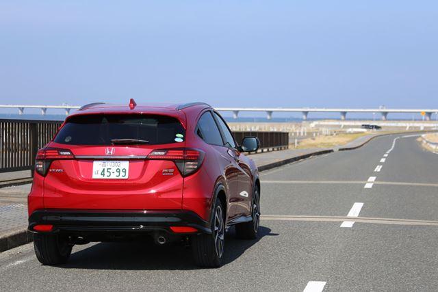 ホンダ 新型「ヴェゼル ハイブリッド RS」の走行イメージ