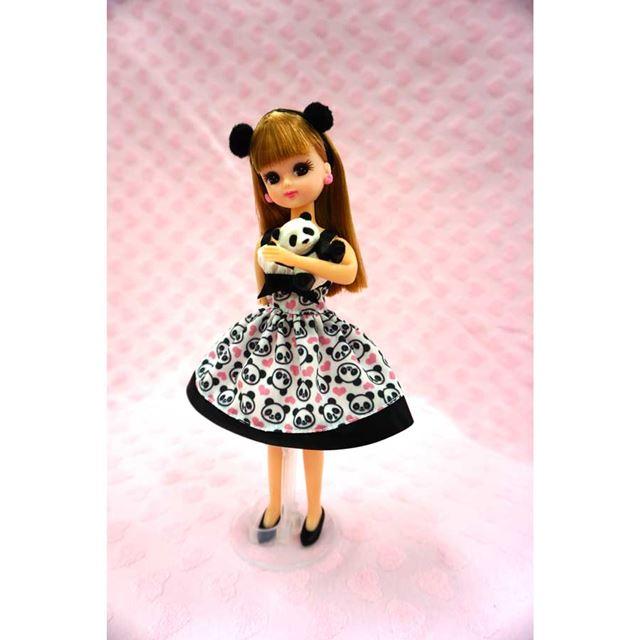 着せ替え人形「リカちゃん チャオチャオパンダ」予定価格は3,000円。2018年春発売予定