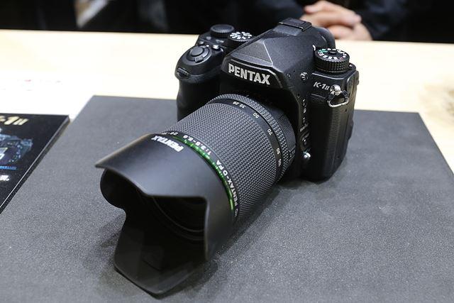 PENTAXブランドのフルサイズ一眼レフの新モデル「PENTAX K-1 Mark II」