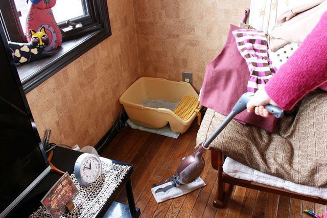なにより、重量が1.3kgと軽量なのはラク。汚れを発見した時に持ってきて掃除するのもおっくうじゃない!