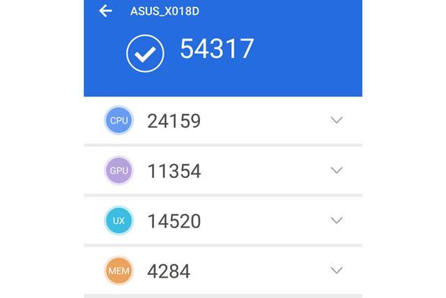 「AnTuTu Benchmark(v7.04)」のベンチマークテスト結果