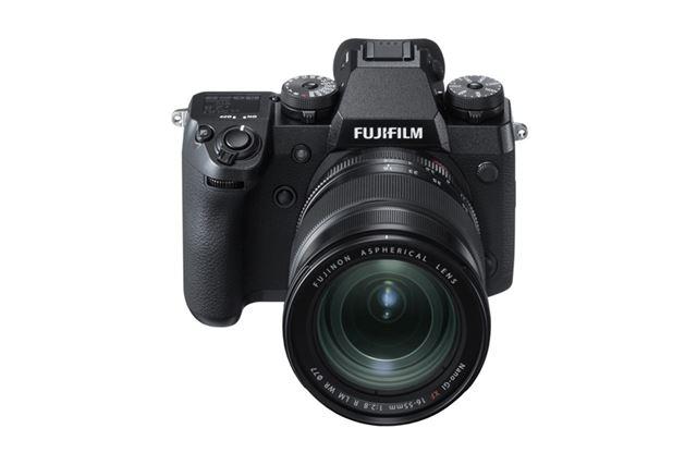 富士フイルム「FUJIFILM X-H1」(※レンズ別売)