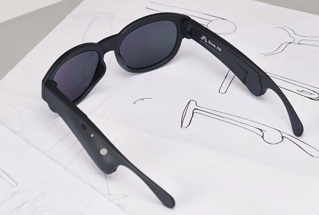 BOSEが公開したサングラス型ARデバイスの試作機