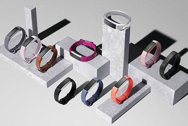 「Fitbit Alta HR」は、カラーバリエーションが豊富なのも魅力