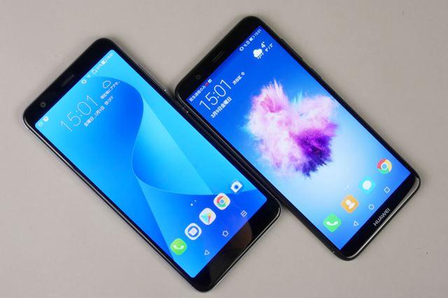 共通点の多い「nova lite 2」と「ZenFone Max Plus (M1)」を徹底比較した