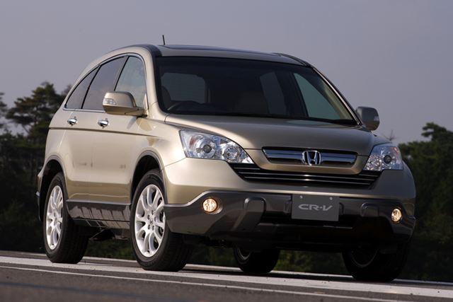 2006年に発売された3代目「CR-V」