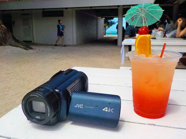 2月に発売したJVCの4Kビデオカメラ「GZ-RY980」のサイパンロケを敢行