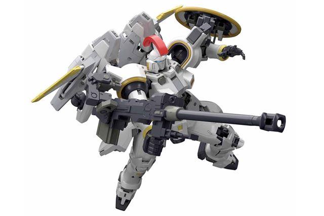 重装甲と高推力が魅力のMSをキット化した「RG 1/144 トールギス EW」