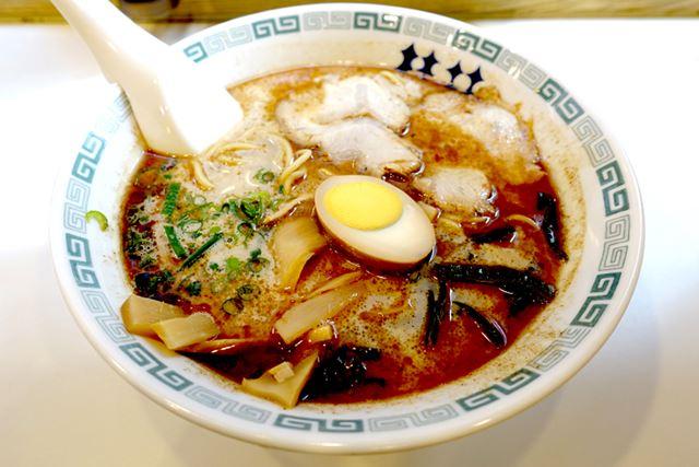桂花ラーメン 渋谷センター街店で、「桂花拉麺」(720円)を注文!