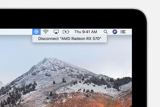 macOSがようやく外付けGPUに対応することに
