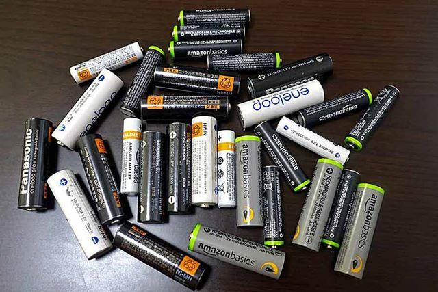…ということで、ウチには充電池、メチャクチャたくさんあります