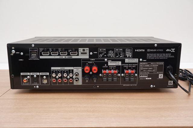 「STR-DH790」の背面