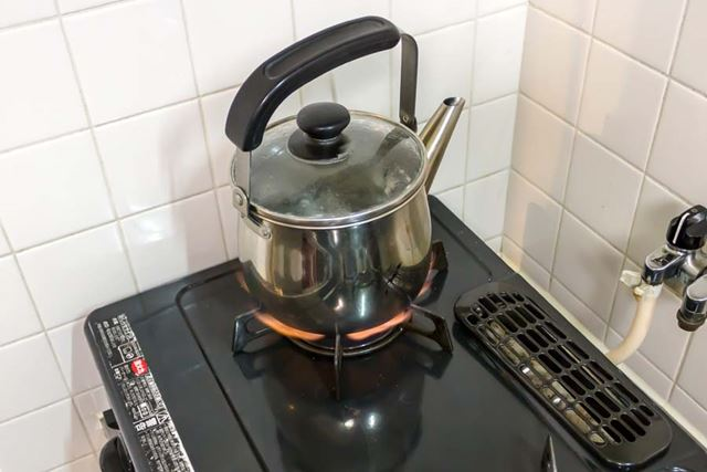 グラグラに煮立った熱湯で作ろう