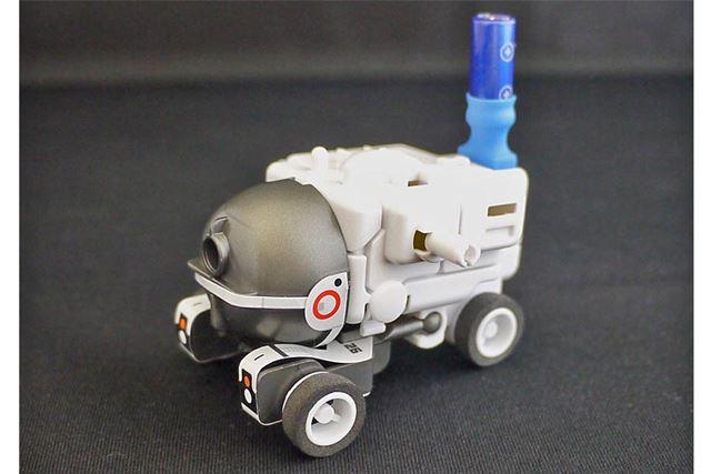 月面探査機っぽい乗り物になりました