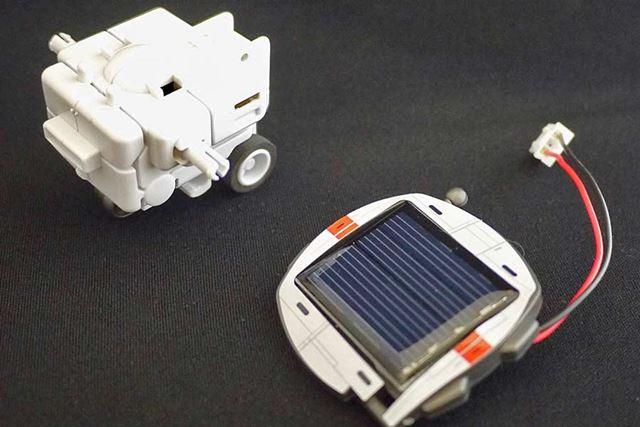ソーラーバッテリーを常備した乗り物にします