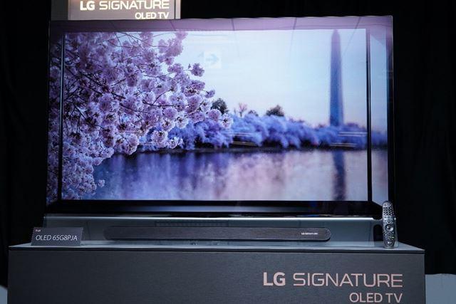 スタンドスタイルのハイエンドモデル「OLED G8P」は65インチサイズをラインアップ