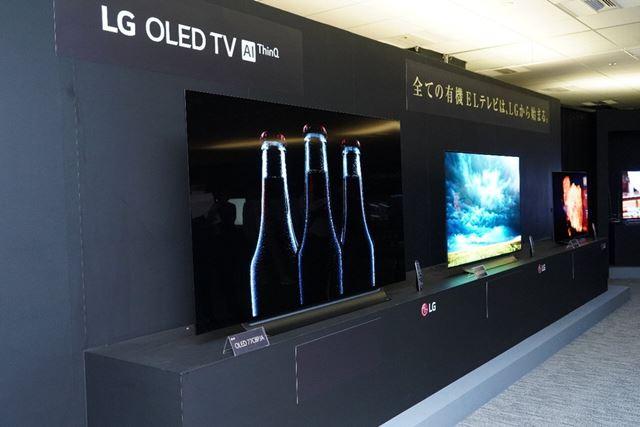 「LG OLED TV AI ThinQ」の名称は今後AI関連機能のアップデート後に展開していくという