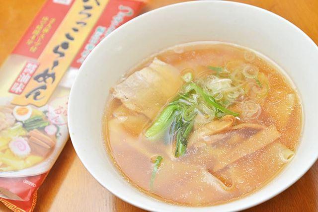 「小山製麺 ぺろっこらーめん 醤油味 200g」