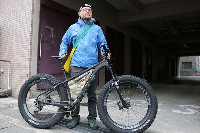 マウンテンバイクで山の中に出かけるのが、北澤さんのバイクパッキングのスタイル