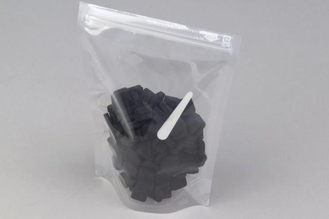 ジッパー付きのしっかりした保管袋が付属。こういうところまで手が届いているのが、キングジム品質