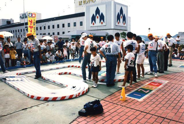 1988年に開催された、記念すべき第1回大会「1988 ジャパンカップ」の様子