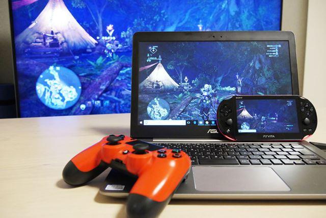 PS4はテレビがなくともPCやPS Vitaなどでリモートプレイできる