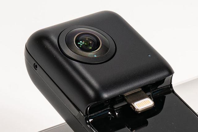 ソニー製2,000万画素センサーを備えた、2レンズ式の360°カメラ