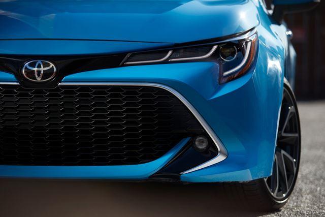 トヨタ 新型「カローラハッチバック」イメージ