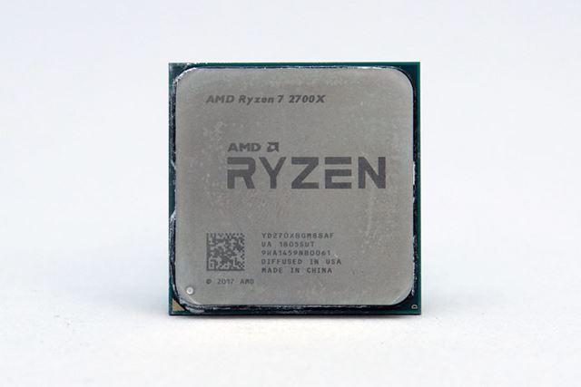 AMD「Ryzen 7 2700X」