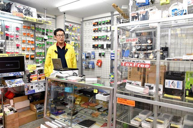 「Palm」人気の火付け役となった、「モバイルプラザ」カリスマ店長の古川敏郎氏にお話をうかがった