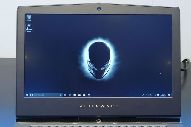 デルはゲーミングノートPC一挙5製品を発表(画像は「NEW ALIENWARE 15」)