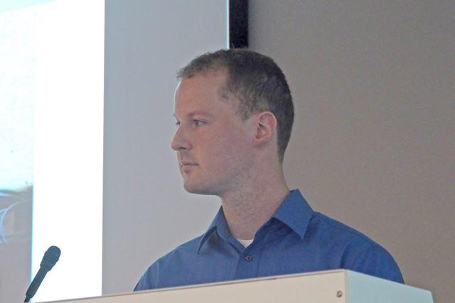 同社ハードウェア プロダクトマネージャーのアレック・スキング氏