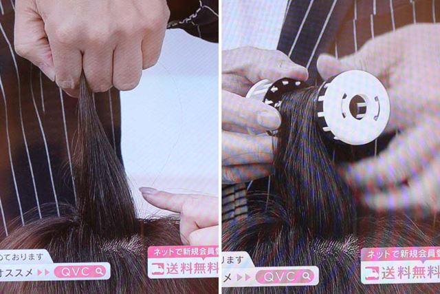 使用する際は、髪を真上に持ち上げることを意識。そうすることで、根元がしっかり立ち上がるそうです